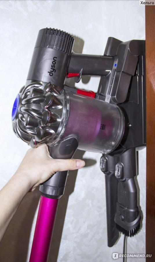 Как зарядить пылесос дайсон dyson philips