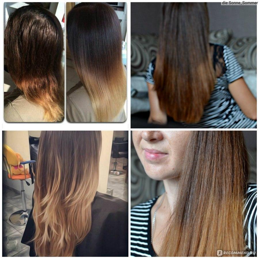 Чем и как осветлить кончики волос в  41