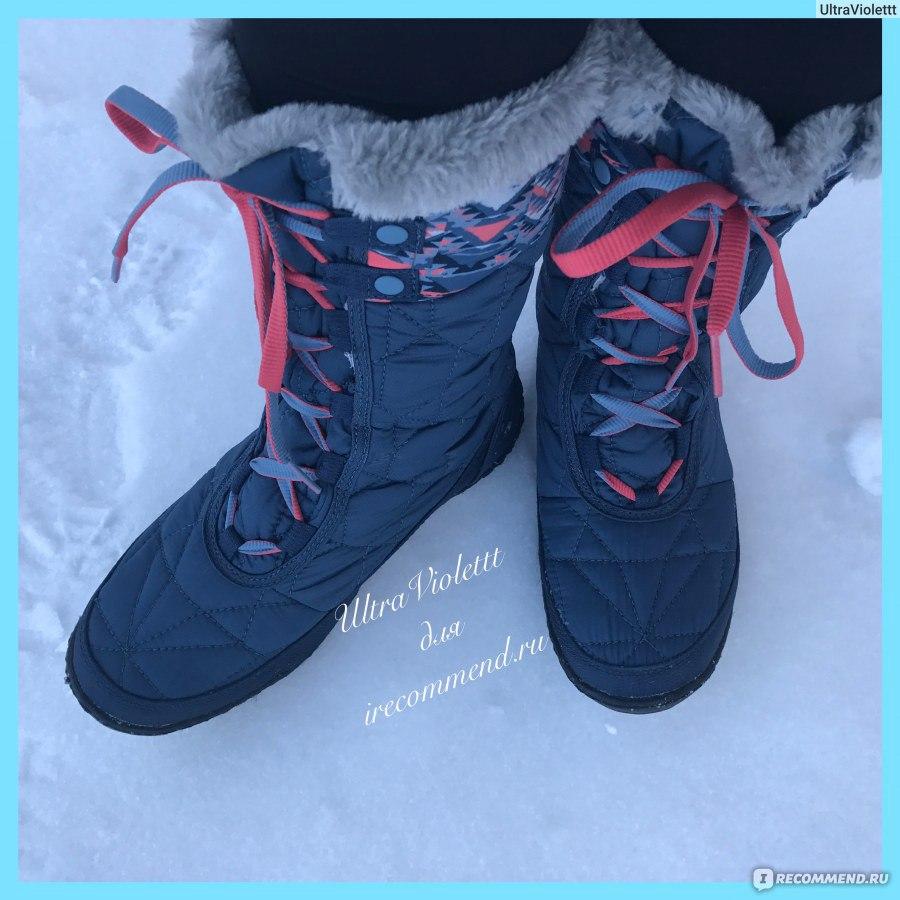 Зимние сапоги Columbia MINX MID II OMNI-HEAT - «Комфортные и тёплые ... dd379cb9c4f
