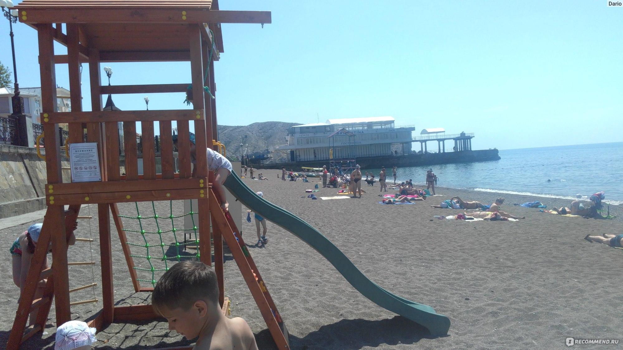 Пляжи крыма для отдыха с детьми фото