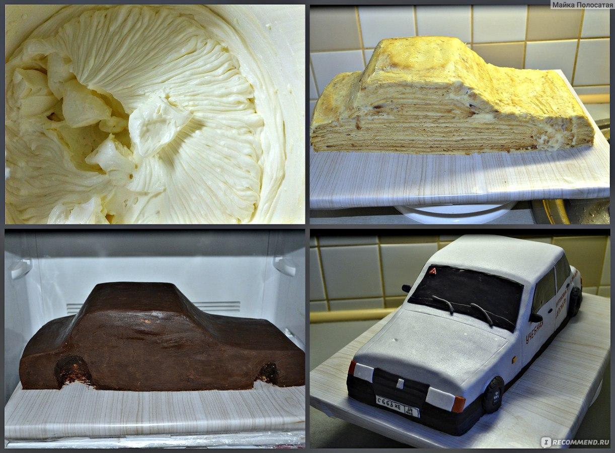 Как делают торт по фото