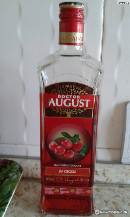 Настойки на клюкве на спирту