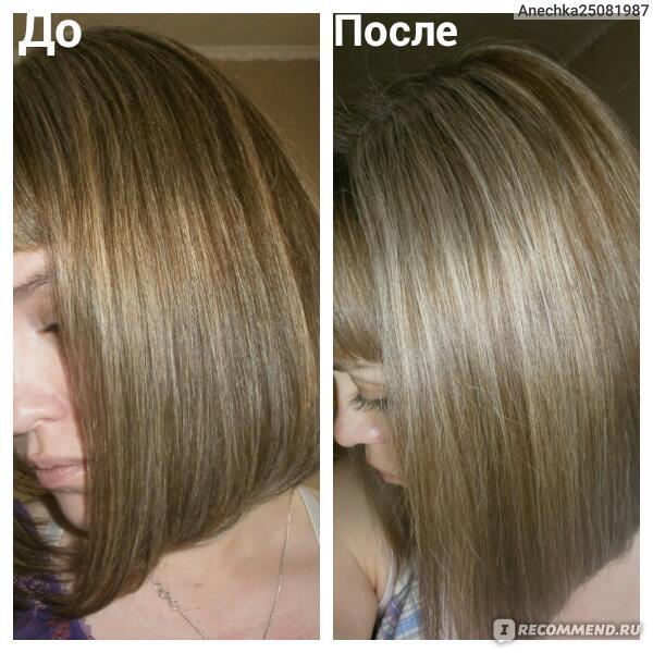 Пепельное тонирование волос фото