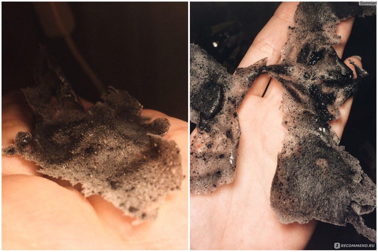 Черная маска в домашних условиях без угля