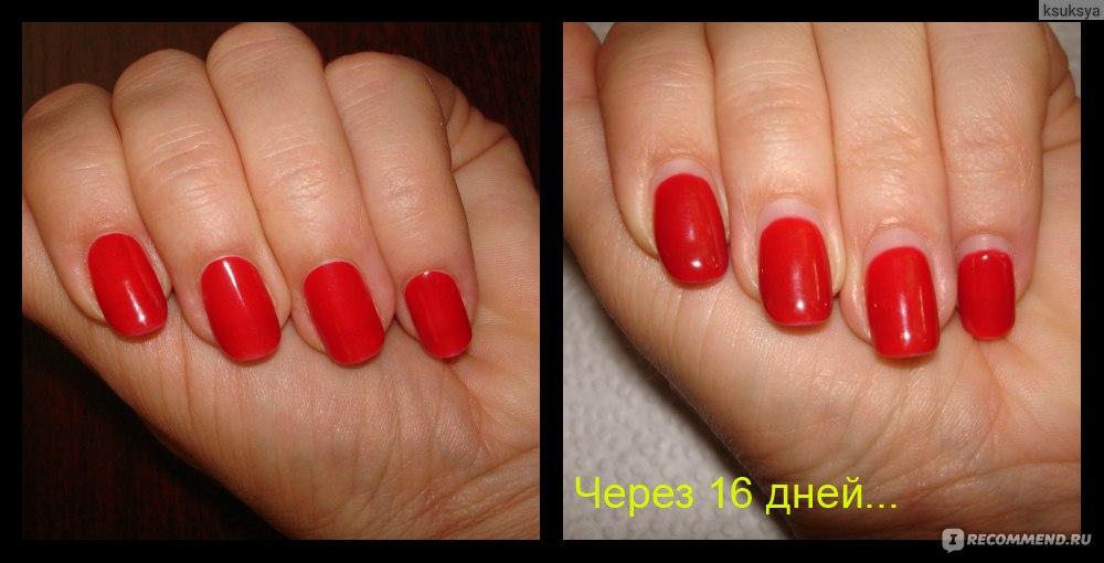 Гель лак на круглых ногтях