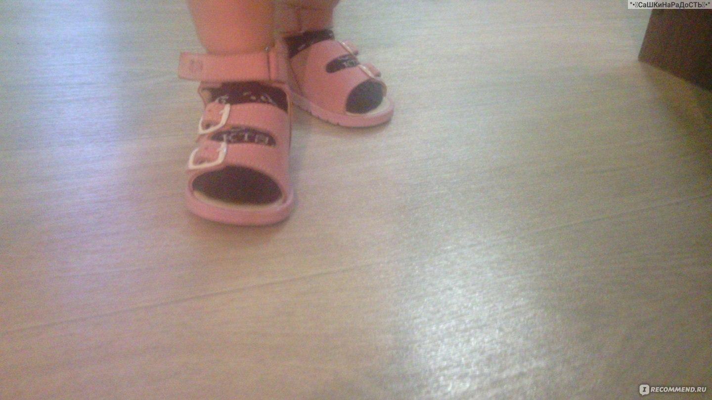 015df0c56 Босоножки ( сандалии) Тотто Летняя обувь - «Наши первые босоножки ...