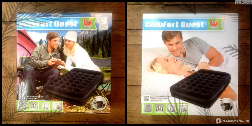 Надувной Матрас Comfort Quest Инструкция - фото 11