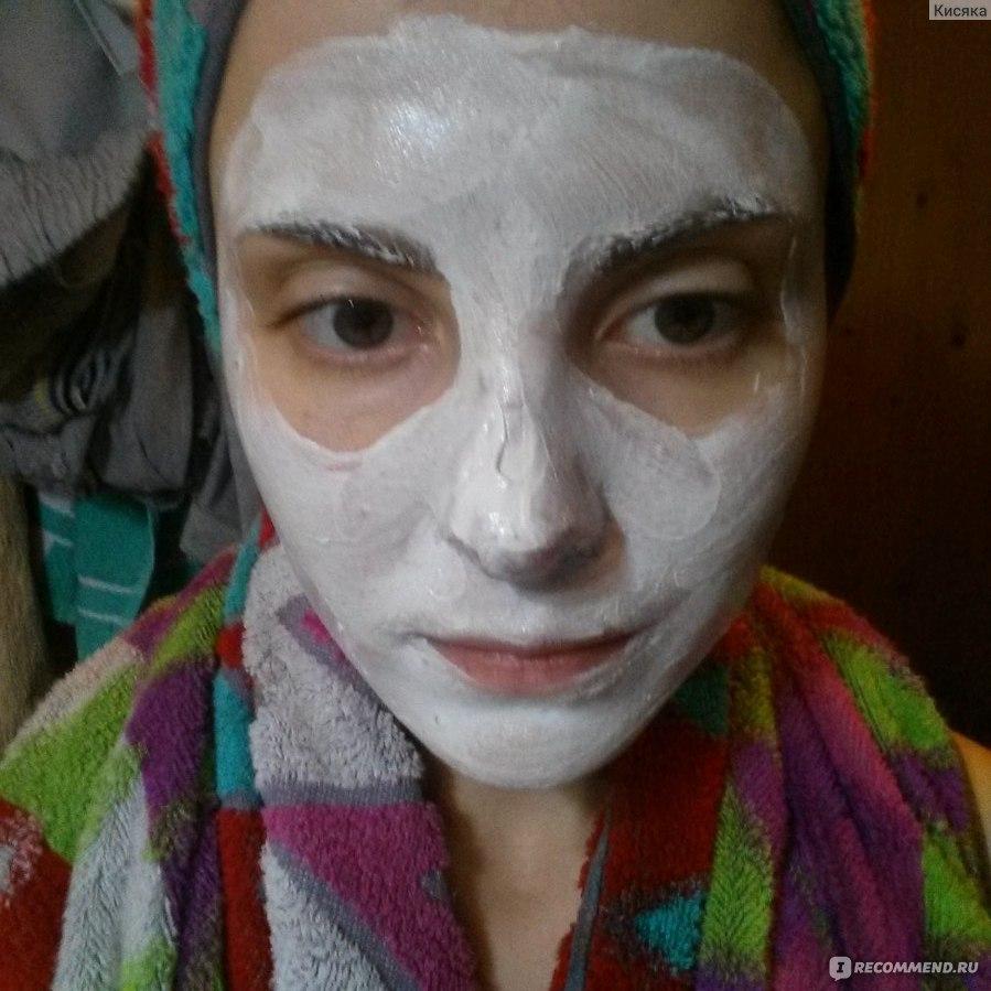маска пластификатор отбеливающая белый лен