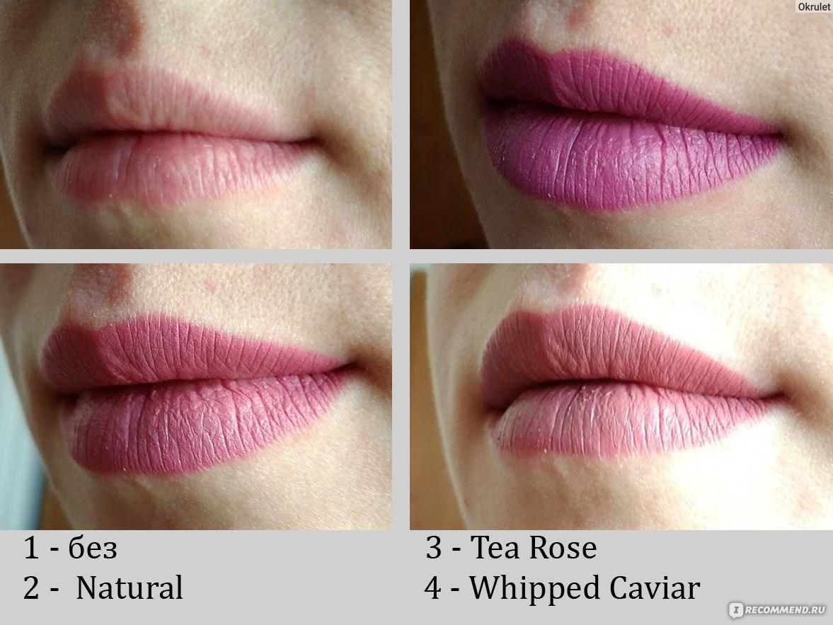 губная помада Nyx Matte Lipstick три самые популярные Tea Rose