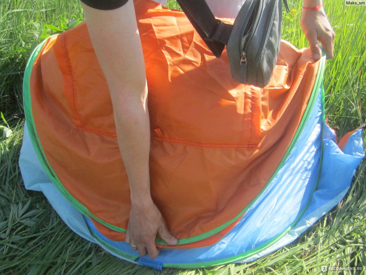 Как сложить палатку восьмеркой схема фото