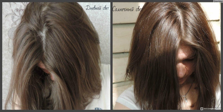 Пепельно коричневый цвет волос от эстель