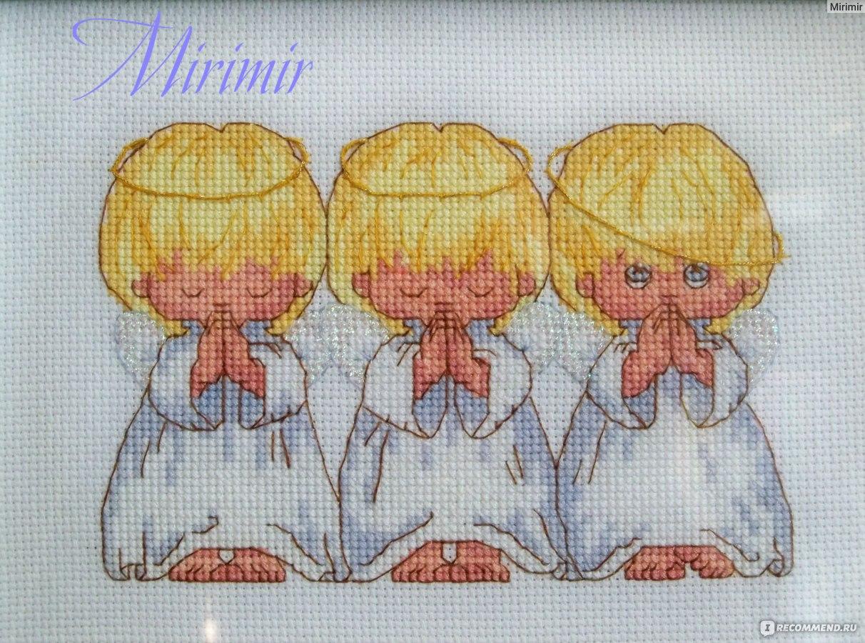 Отзывы о вышивке ангелочков 447