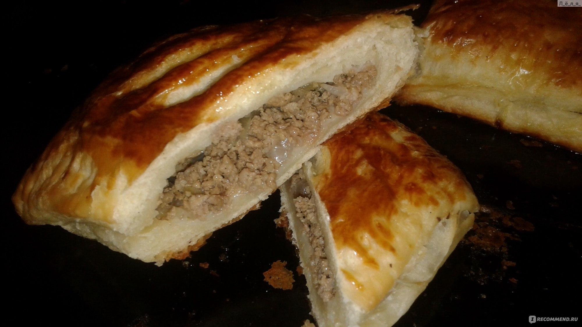 Слойки с мясом пошаговый рецепт (17 фото) 41