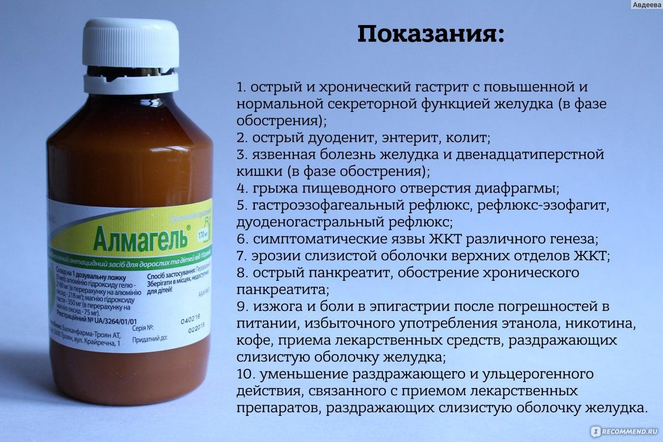 """Средство для лечения желудочно-кишечного тракта Balkanpharma/Troyan Алмагель (классический) - """"Эффективный препарат против изжог"""
