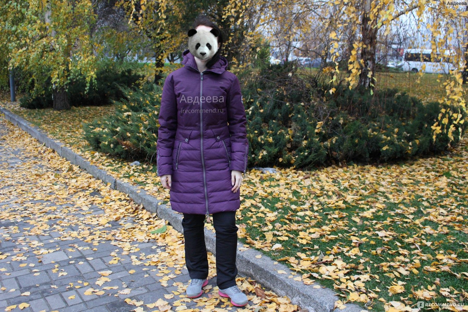1ccc04a3a2bcf Куртка пуховая женская Outventure Артикул LWV203P442 - «Пуховик ...