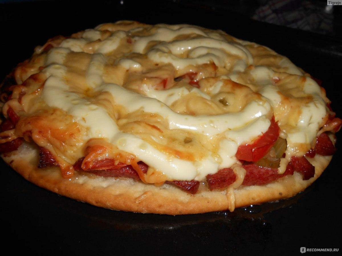 Как приготовить пиццу на готовой основе