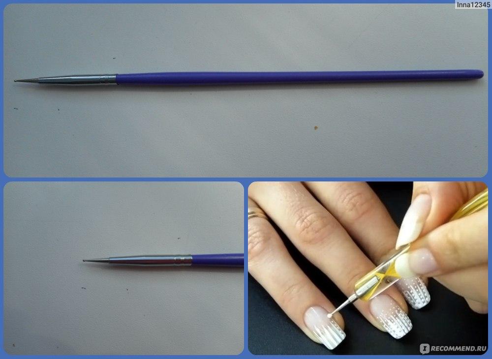 Фото кисти для дизайна ногтей