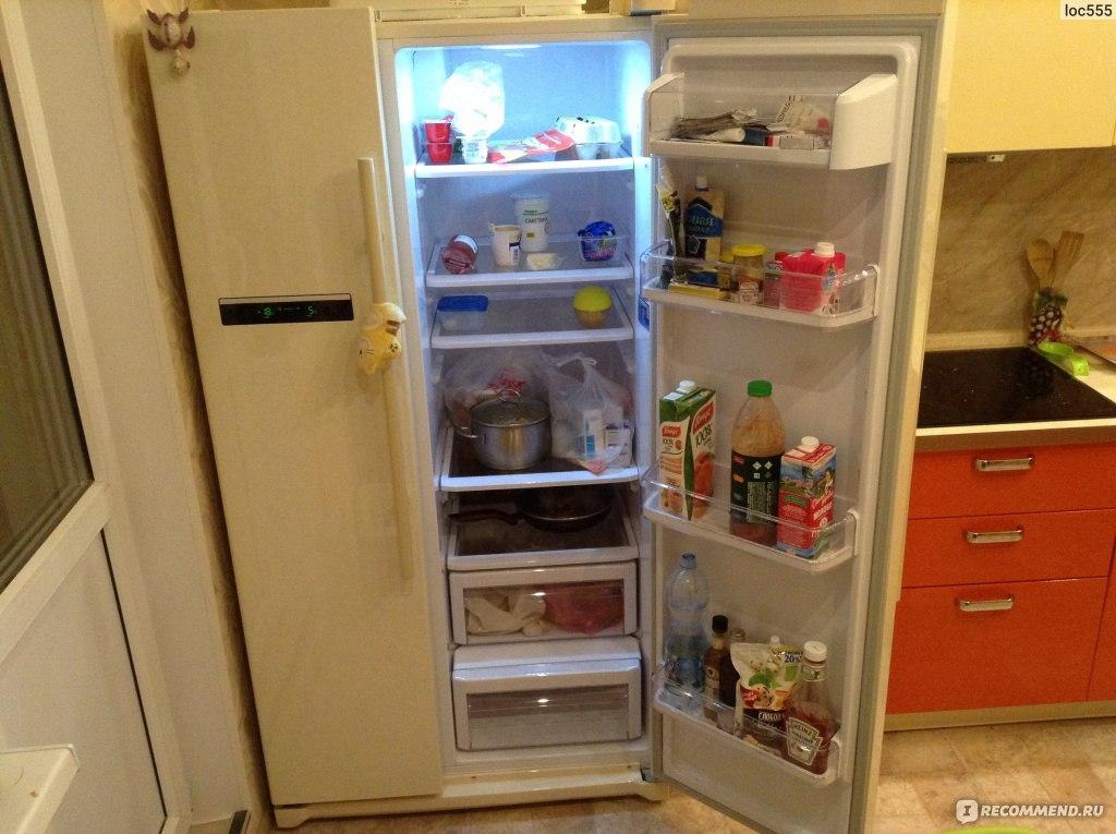 Холодильники sbs в интерьере