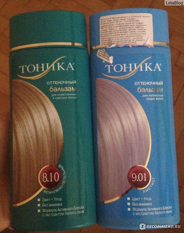 Оттеночный бальзам для волос тоника отзывы