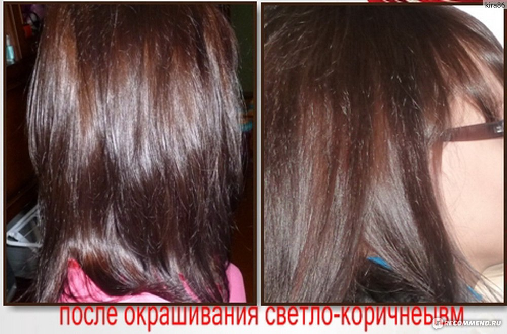 как читать номера красок для волос