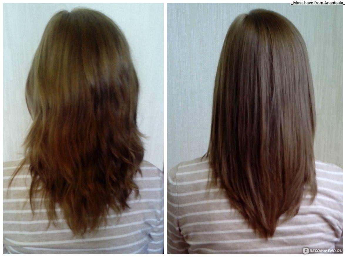 утюжок для волос до и после фото это