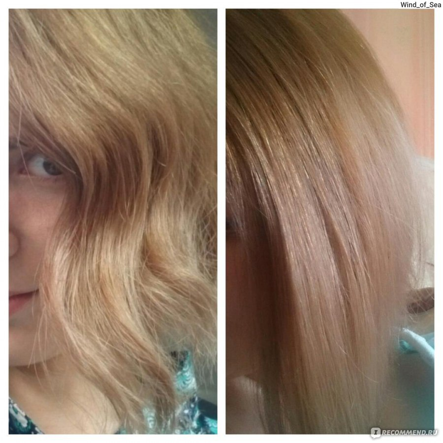 Аметист тоника на русые волосы