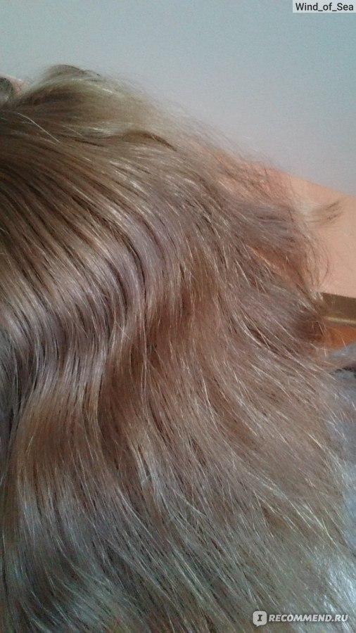 На волосах липкий налет на