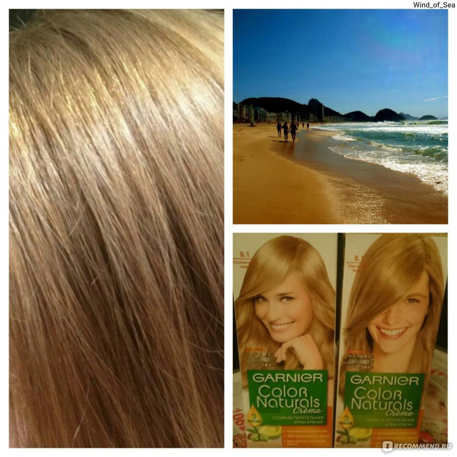 Краска для волос айрекоменд