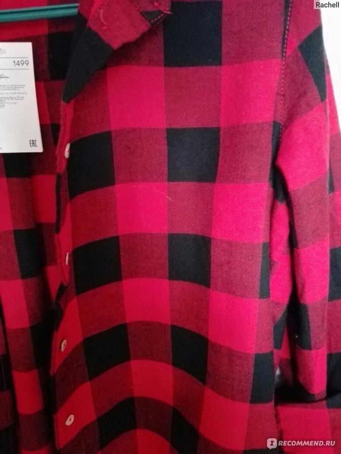 b3688cecf8b Рубашка H M Фланелевая Артикул №0401484007 р.36 - «Моя любимая ...