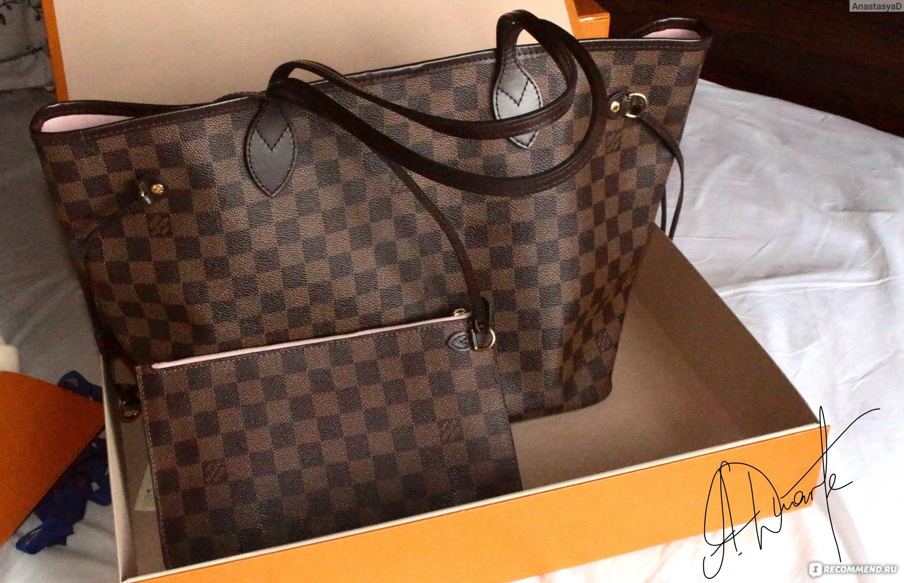 9cce55cf2573 Сумка Louis Vuitton Neverfull - «Сумка-икона Louis Vuitton NEVERFULL ...
