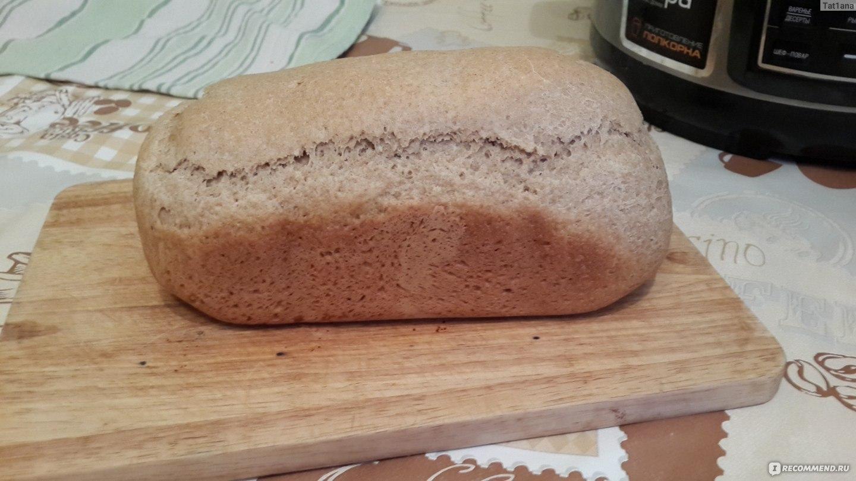 Рецепт ржаного хлеба для хлебопечки пошагово