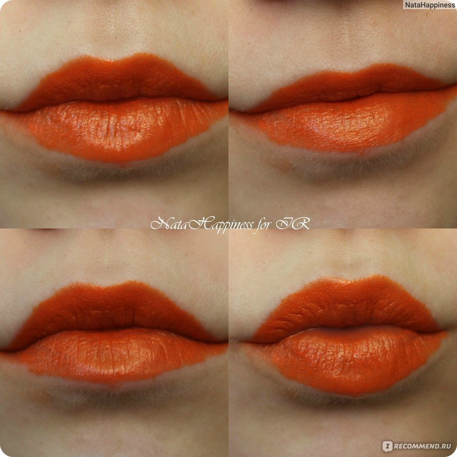 Ярко накрашенные губы у зрелой 8 фотография