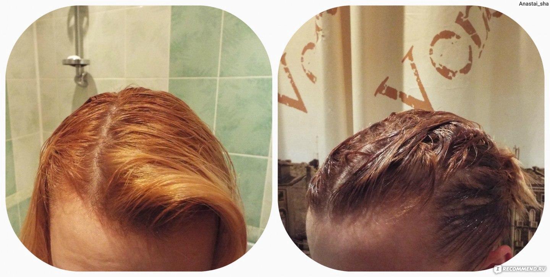 Мои волосы после масляной маски фото
