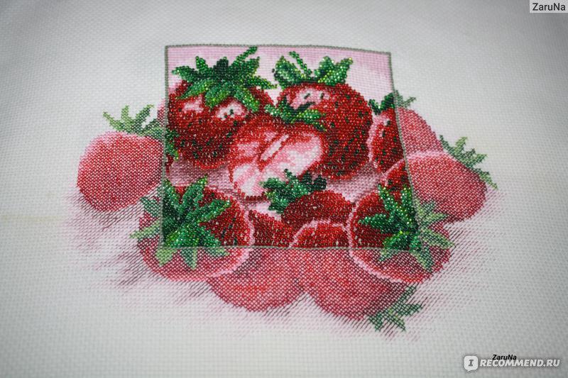 Наборы для вышивки бисером и
