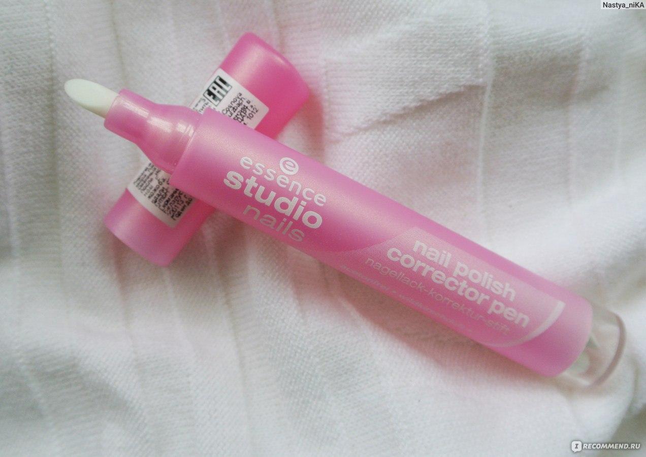Essence studio nails карандаш для коррекции маникюра отзывы