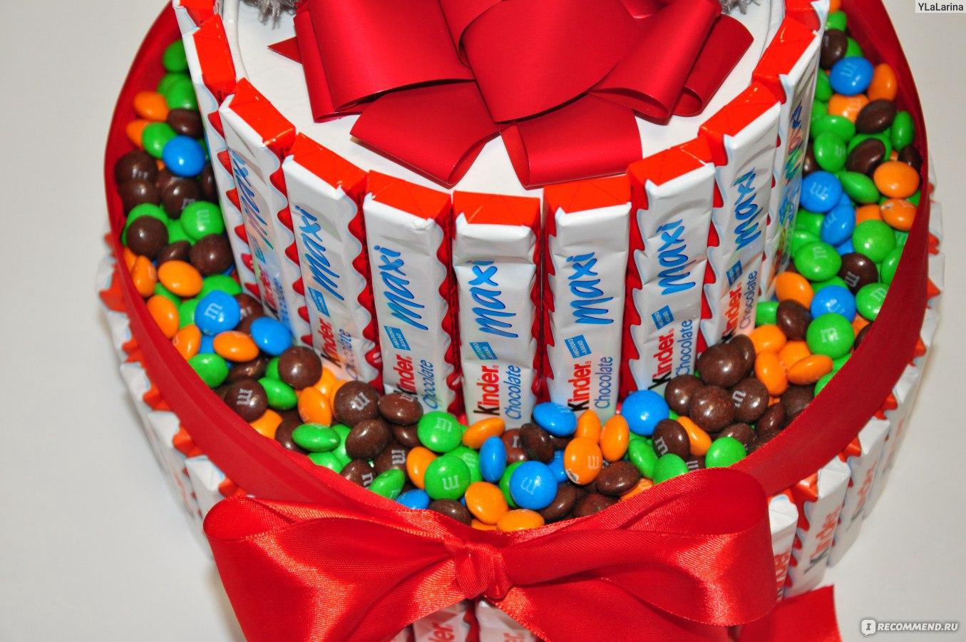Сделать торт из сладостей своими руками 17