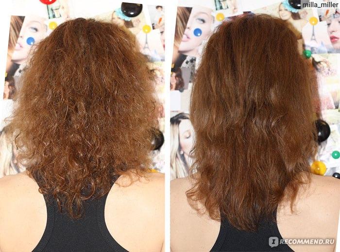Как убрать пышность с волос в домашних условиях 314