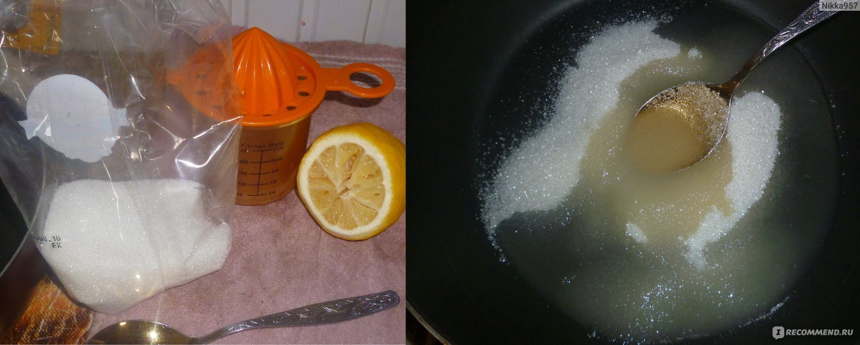Шугаринг в домашних условиях на 10 ложек сахара 588