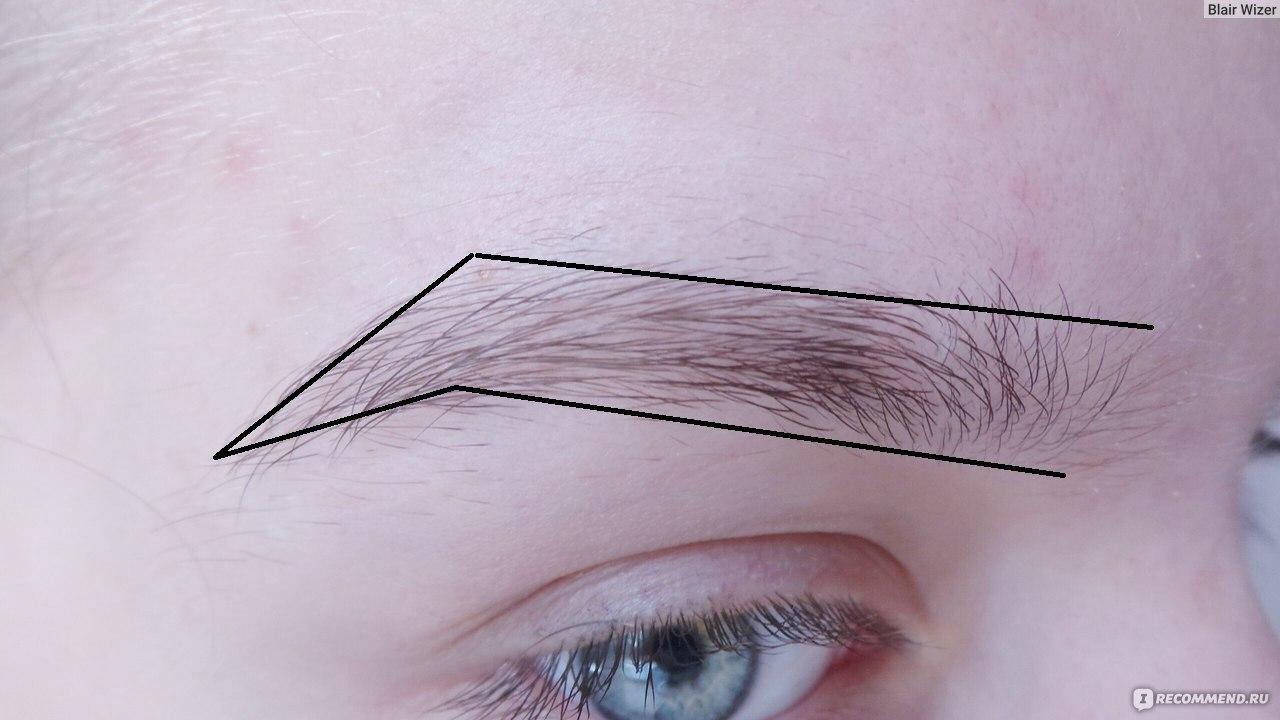 Как сделать брови аккуратными если волоски длинные