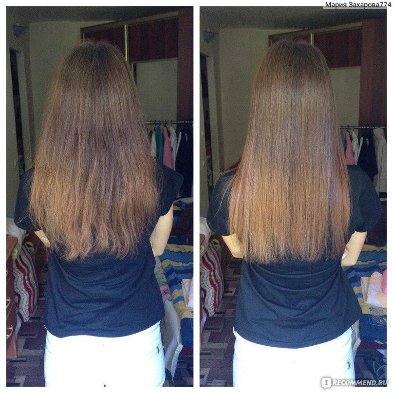 они утюжок для волос до и после фото нарисовать семью
