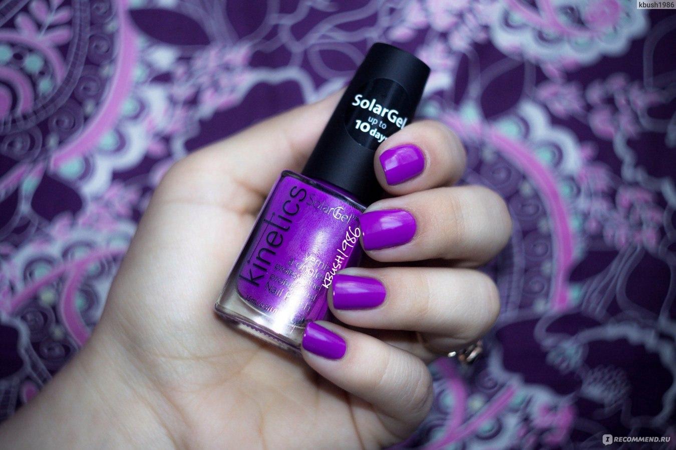 Лак для ногтей kinetics nail colors