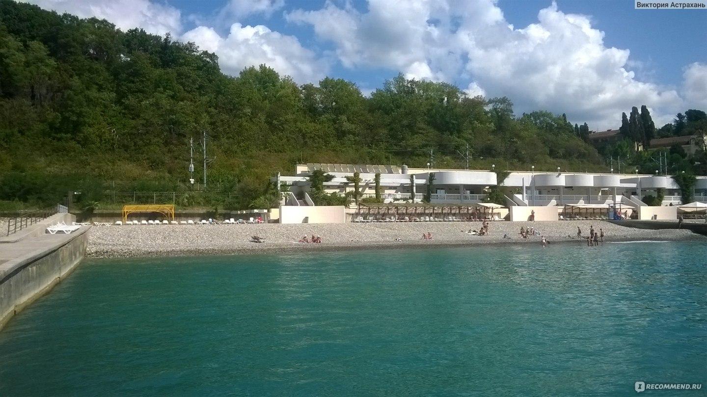 Пляж санатория октябрьский фото