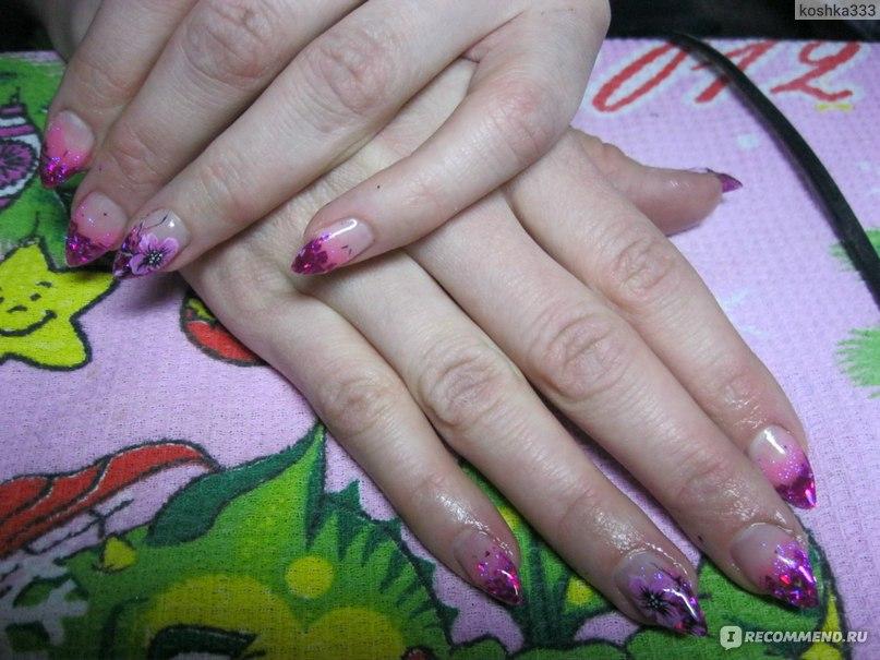 Как гелевые ногти в домашних условиях