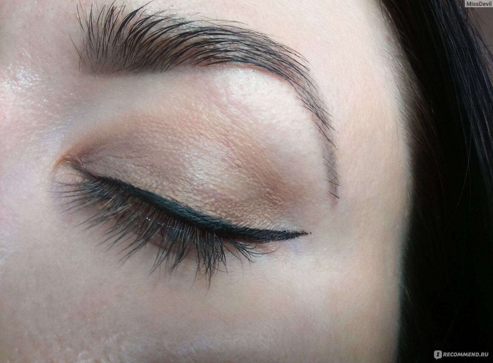 Жидкие тени фото макияжа