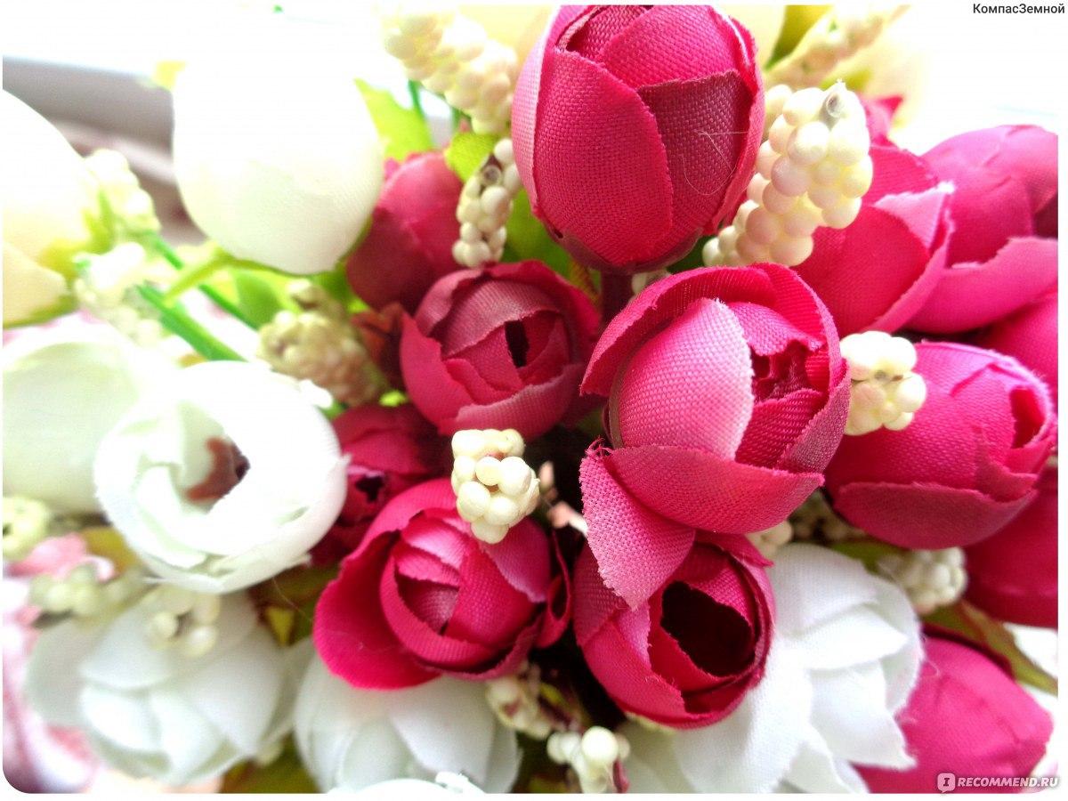 Цветы Aliexpress Букет искусственных цветов Artificial Red Rose Flowers 18  Flower Heads Camellia Magnolia Floral Wedding 5ef16a28028