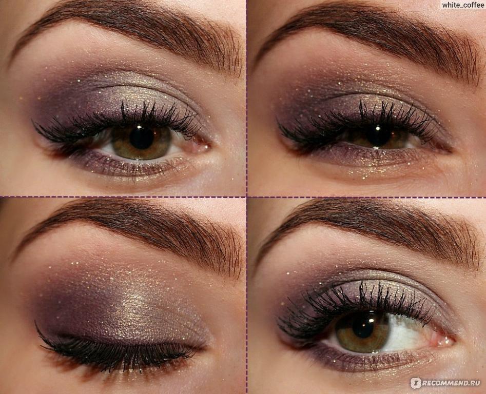 Макияж глаз с кремовыми тенями
