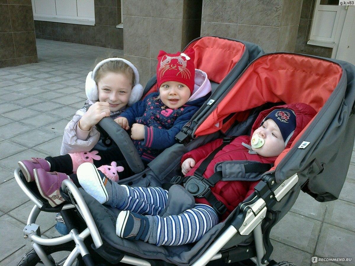 Коляска для погодок фото с детьми