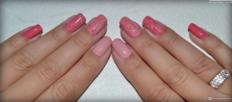 Простой дизайн ногтей гель -лаком для начинающих (40 фото легкий)