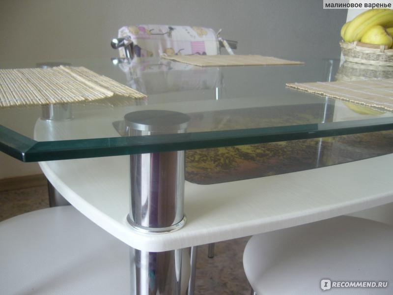 Ремонт стеклянных столов на дому