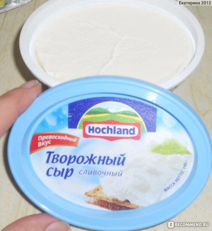 Как сделать из творожного сыра крем 997